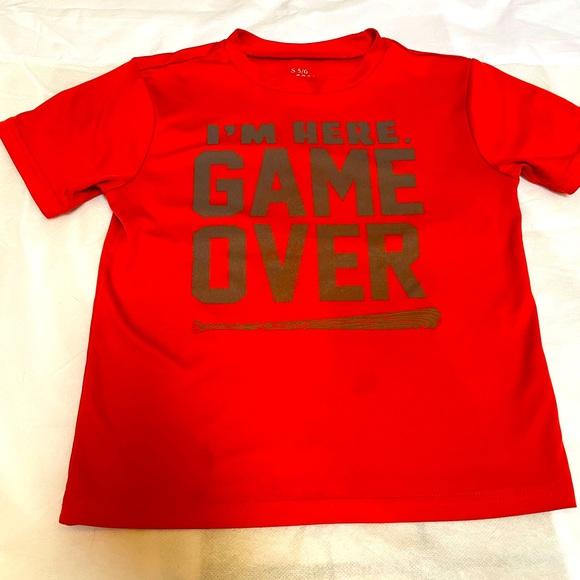 Children's Place baseball t-shirt, 5/6